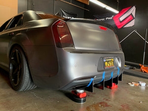 2015+ 300 Srt V2 Straight Design Diffuser