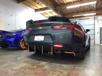 2016+ Chevy Camaro Rear Spat (Bend Down End Pieces Only)