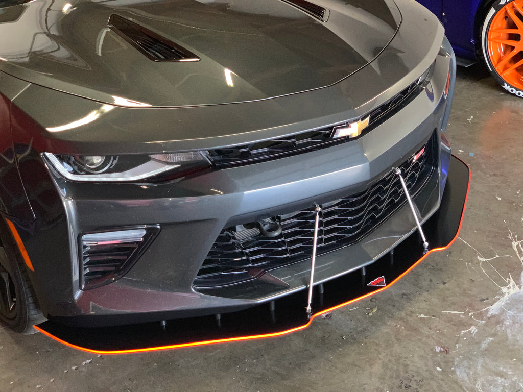 2016+ Chevy Camaro CUSTOM CUT Design Splitter V1-V2