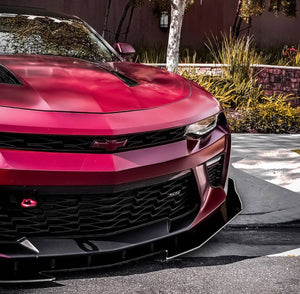 2016+ Chevy Camaro RS-SS SPHNIX RODLESS Splitter With Winglet