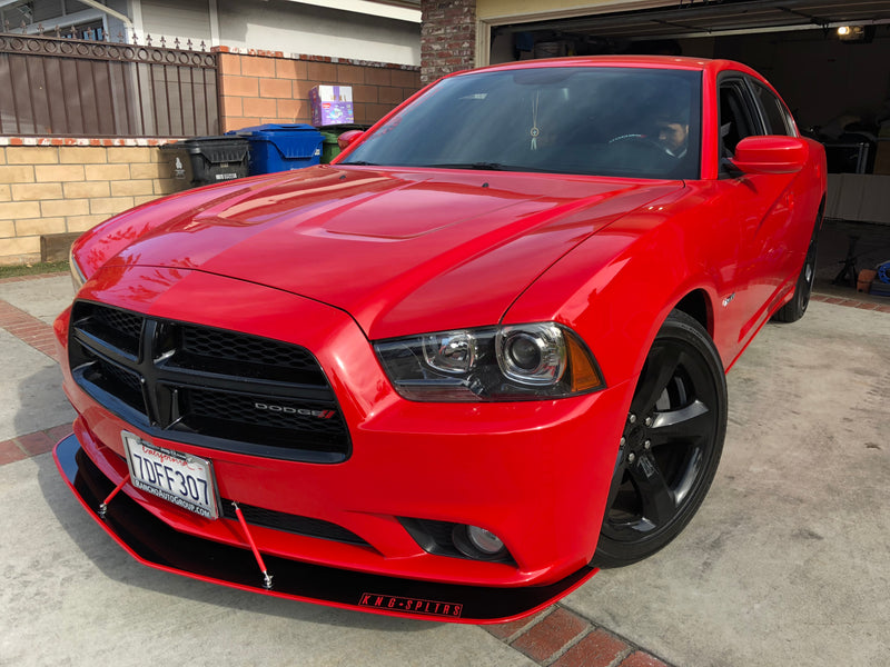 2011-14 Dodge Charger Sxt-RT Splitters