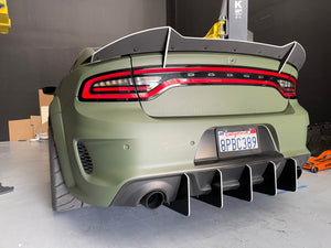 2020 Charger WideBody Round design V2 Diffuser