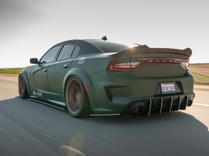 2020 Charger WideBody Dual Slant-In V2 Diffuser