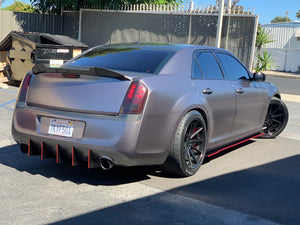 2010-2014 Chrysler 300 V2 Straight Design diffuser