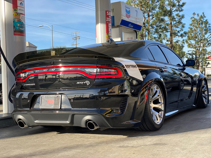 2020 Charger Wide Body New Hellcat Spoiler Duck Bill Full Glass