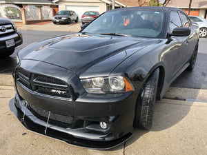 2011-14 Dodge Charger SRT 392 Front Splitters