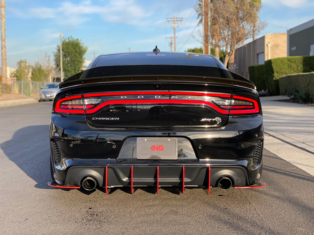 2020 Charger WideBody Honey Comb Design V2 Diffuser
