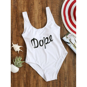 Dope One-Piece Swimsuit