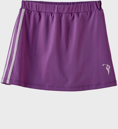 Girls Junior Golf Purple Performance Skort