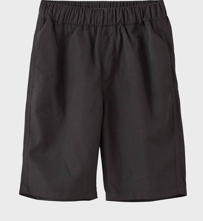 Boys Junior Golf Black Performance Short