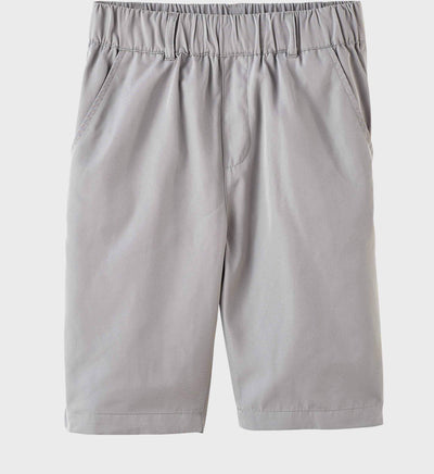Boys Junior Golf Light Grey Performance Short