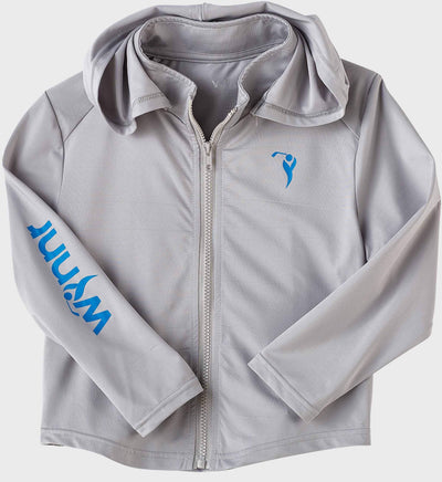 Boys Junior Golf Grey Performance Hoodie