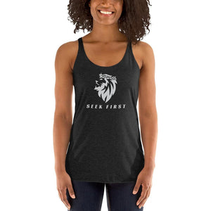 Thorn Crown Lion Women's Tank
