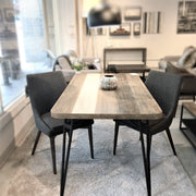 Metro Noir Havana Dining Table 59""