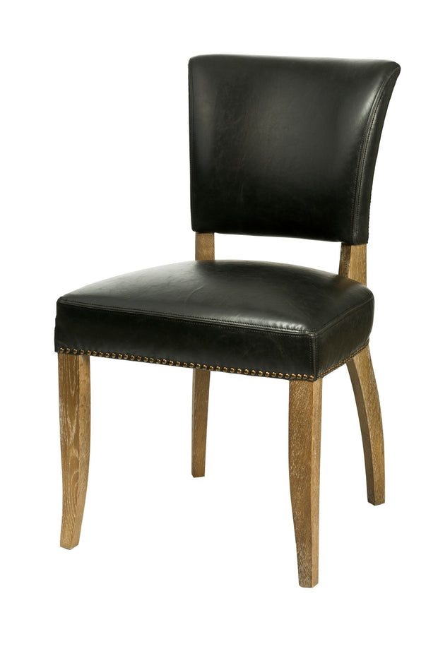 Luther Dining Chair - Black (2/Box)