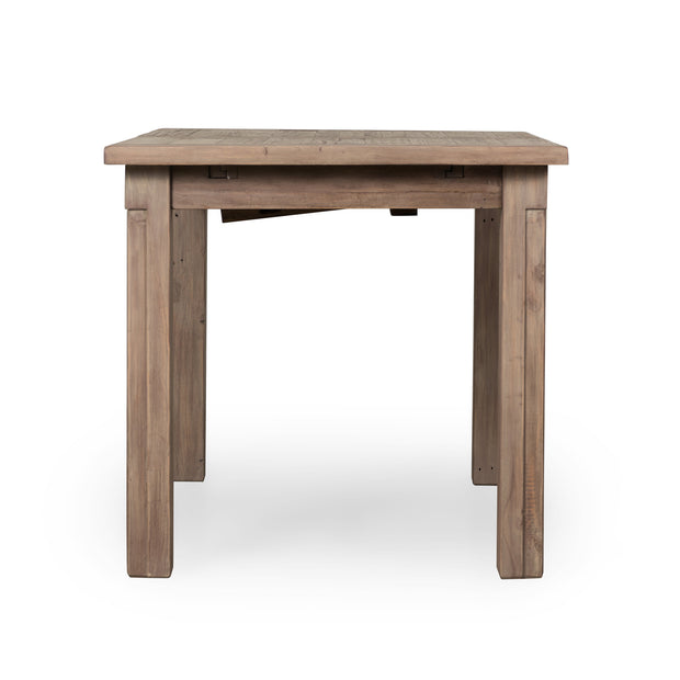 "Cintra Small Ext Dining Table (47""/62"") - Rustic Sundried Ash"