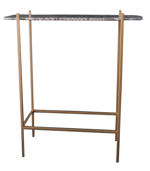 Earth Wind Fire Console Table With Marble Top