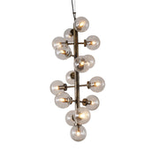 Lit Edison Chandelier 15 Lights