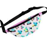 90s Mouse Grid Fanny Pack - Dapper Digs Trading Co