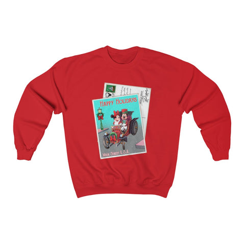 Main Street Holiday Unisex Sweatshirt - Dapper Digs Trading Co