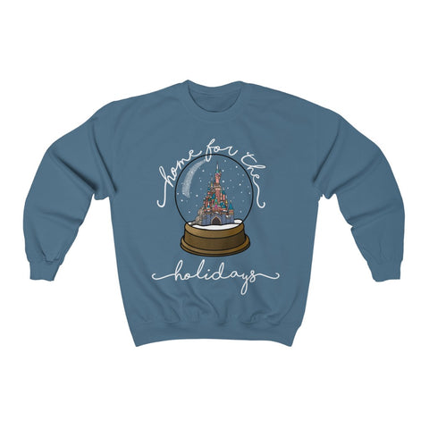 Home for the Holidays Unisex Sweatshirt (Paris) - Dapper Digs Trading Co