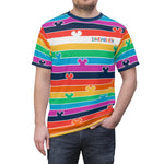 Pride Stripes Unisex Tee - Dapper Digs Trading Co