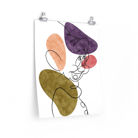 Dopey Art Print - Dapper Digs Trading Co
