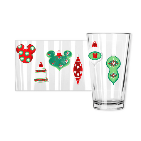 Ornament Pint Glass - Dapper Digs Trading Co