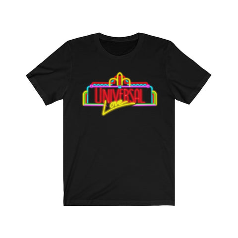 Universal Love Neon Unisex Tee - Dapper Digs Trading Co