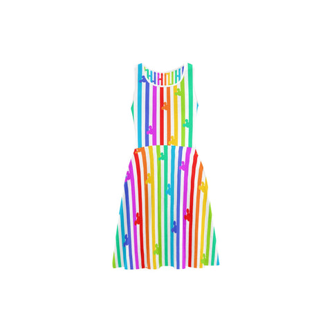 Pride Mouse Stripes Sundress - Dapper Digs Trading Co