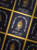 Dole Whips Till I Die Pin - Dapper Digs Trading Co