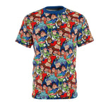 Lamplight Print unisex Tee - Dapper Digs Trading Co