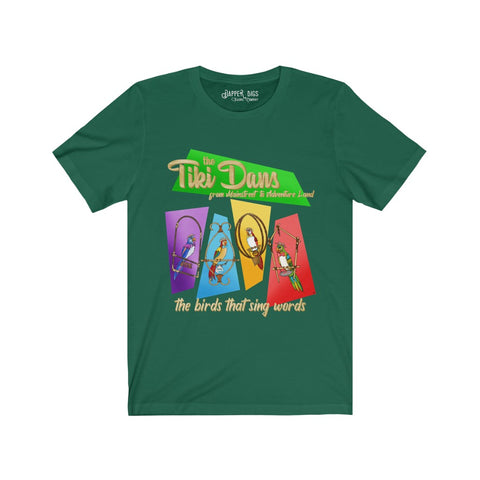 Tiki Dans Unisex  Tee (7 color options)