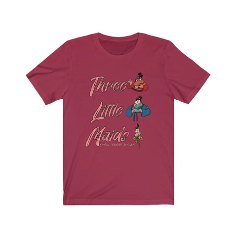 Three Little Maids Unisex Tee (4 color options) - Dapper Digs Trading Co