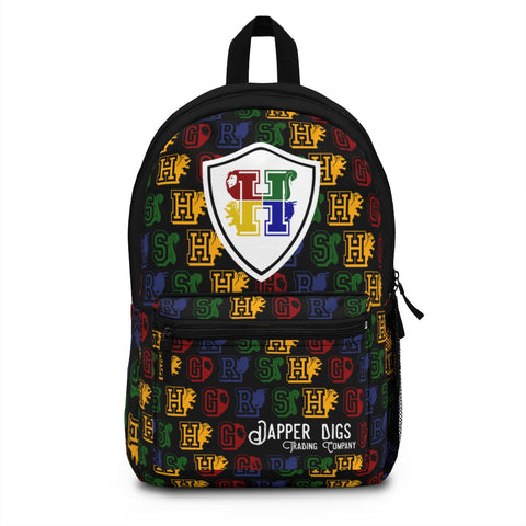 Wizarding House Backpack - Dapper Digs Trading Co