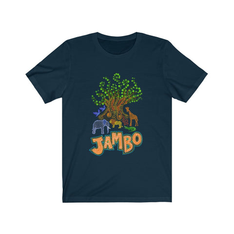 JAMBO Unisex Tee (6 color options) - Dapper Digs Trading Co