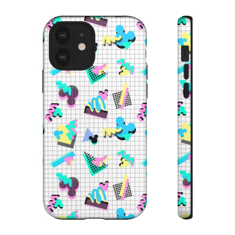 90s Mouse Grid Phone Case - Dapper Digs Trading Co
