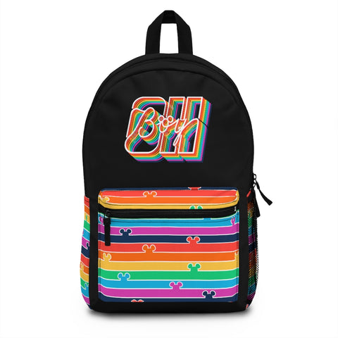 Oh Boy! Pride Backpack - Dapper Digs Trading Co