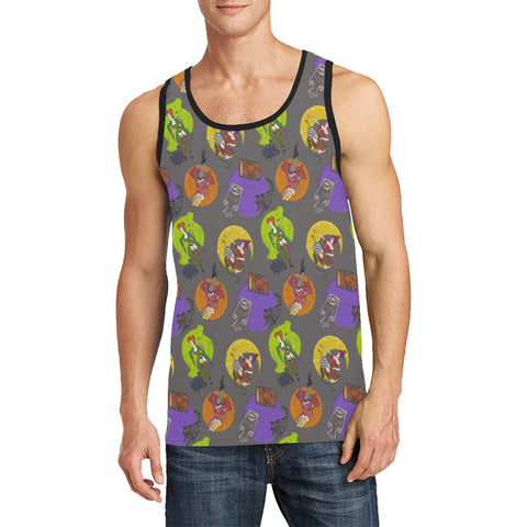 Pin-Up Witches Tank Top - Dapper Digs Trading Co