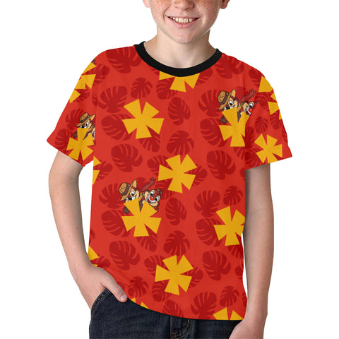 Rescue Hawaiian Kids' Tee - Dapper Digs Trading Co