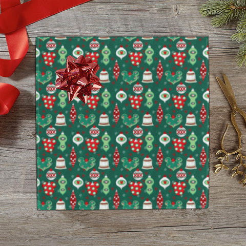 Ornament Print Gift Wrap - Dapper Digs Trading Co