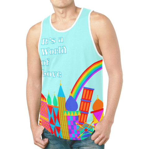 World of Love Tank Top - Dapper Digs Trading Co