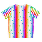 Pride Mouse Stripes Unisex Tee - Dapper Digs Trading Co