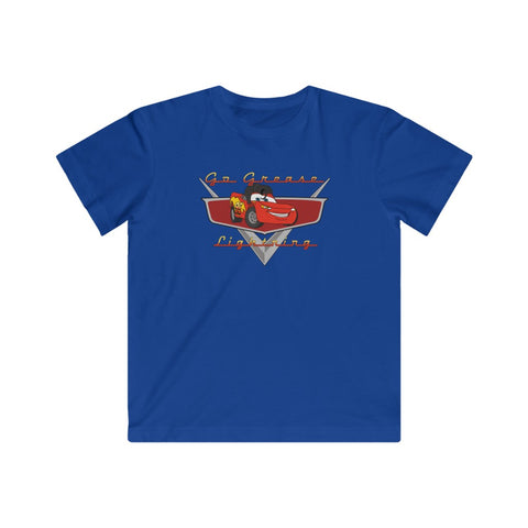 Go Grease Lightning Kids Tee (2 color options) - Dapper Digs Trading Co