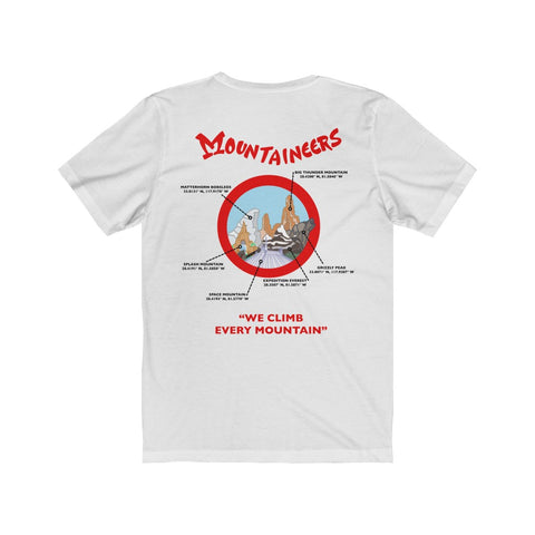Mountaineers Unisex Tee - Dapper Digs Trading Co