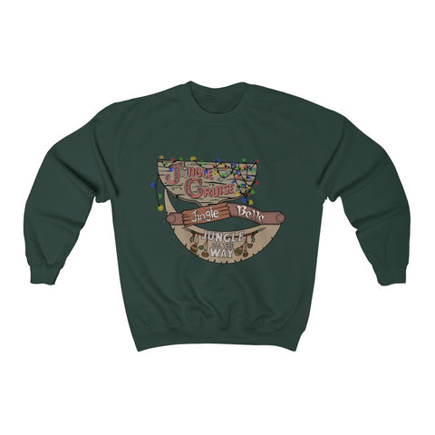 Jungle All the Way Unisex Crewneck Sweatshirt - Dapper Digs Trading Co