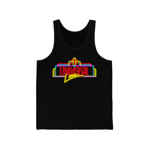 Universal Love Neon Unisex Tank - Dapper Digs Trading Co