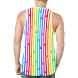 Pride Mouse Stripes Tank Top - Dapper Digs Trading Co