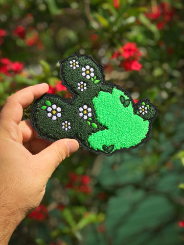 Mickey Topiary Chenille Iron-on Patch