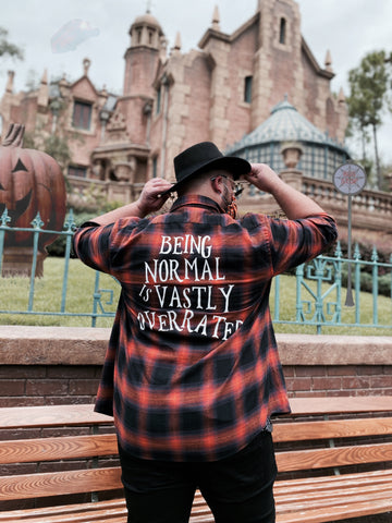 Being Normal Flannel - Dapper Digs Trading Co